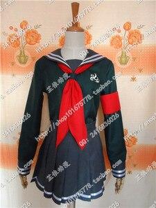 Image 4 - Robe de soirée en boîte pour femmes, costume de Cosplay pour Halloween, Super Danganronpa 2, Peko Pekoyama
