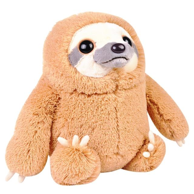 Cute Stuffed Animal Soft Plush Toy Doll Baby Sloth Happy Birthday