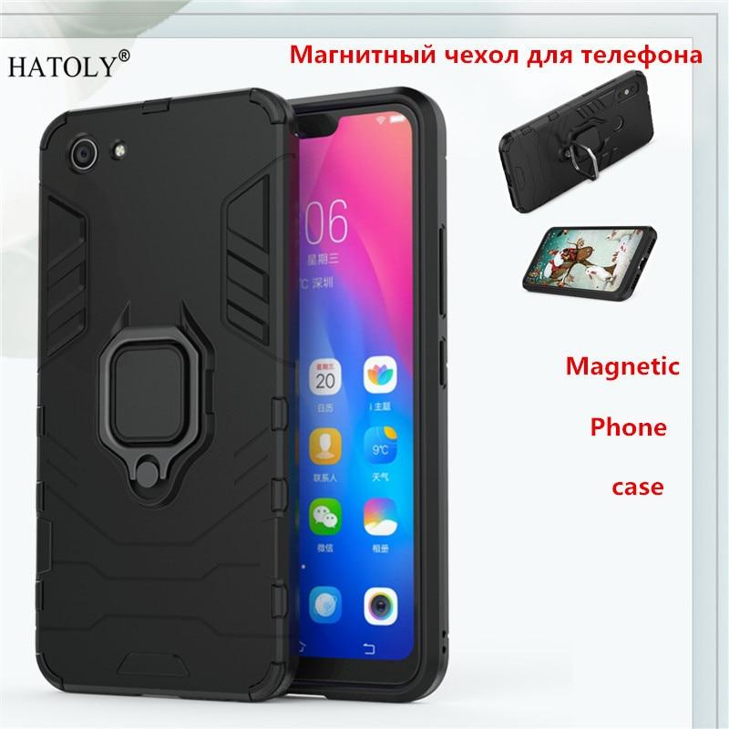 Vivo Y83 Magnetic Phone Case For Vivo Y83  Back Cover TPU+ PC Bumper Case Cover Vivo Y83 /Y83A Ring Holder Phone Capa Coque