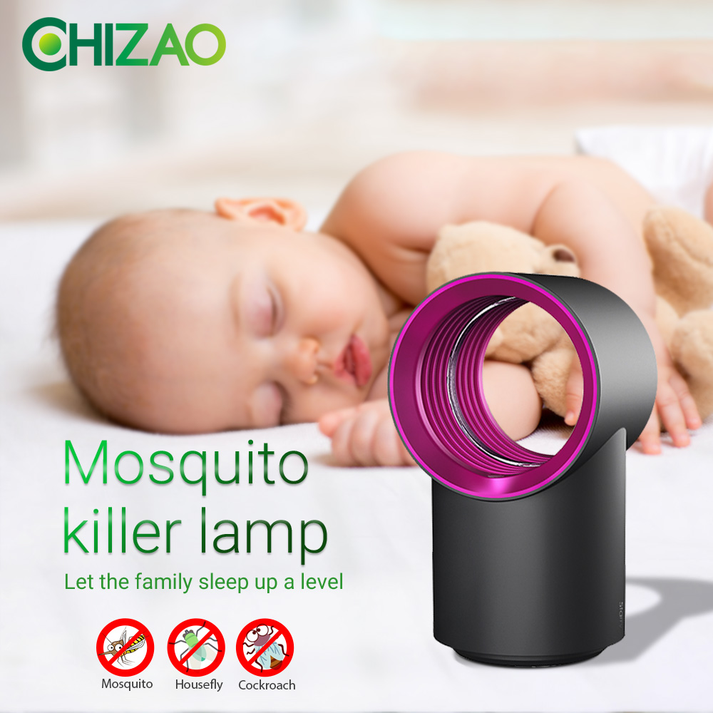 CHIZAO Electric Mosquito Killer lamp USB Electronics anti mosquito Trap LED Night Light Lamp Bug insect killer Lights Pest