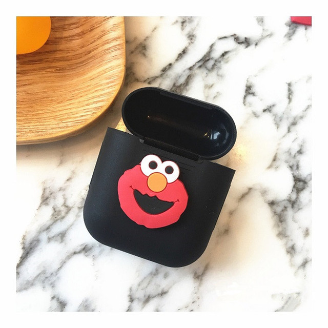 Cute Cartoon Soft Silicone AirPod Case Cover 1