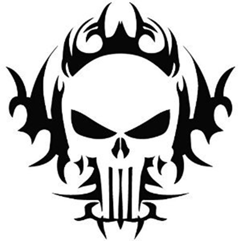 Online Get Cheap Punisher Skull Decal Aliexpresscom Alibaba Group - Skull decals for trucks