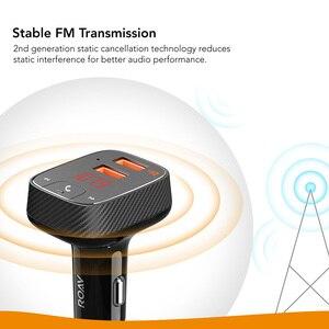 Image 2 - ANKER Roav Bóng Đèn LED Bulb Tích Điện Thông Minh Smartcharge F2 Phát FM Bộ Thu Bluetooth Xe Hơi Có Bluetooth 4.2 Hỗ Trợ Ứng Dụng Ổ Đĩa USB CHƠI MP3