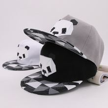 2018 мужские кепки wo с принтом панды собаки в стиле ретро хип