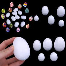 10 sztuk zestaw 3-7cm modelowanie styropianowe kulki z pianki jaj Ball biały Craft dla DIY boże narodzenie czy wielkanoc dzień ozdoba tanie tanio Nanoszenia 10SZT AJ010 Partia (10 sztuk lota) 0 03 kg (0 07 funta) 10 cm x 10 cm x 10 cm (3 94 cala x 3 94 cala x 3 94 cala)