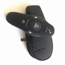 Télécommande PPT avec stylo pointeur Laser rouge, contrôleur de présentateur 2.4G avec récepteur USB