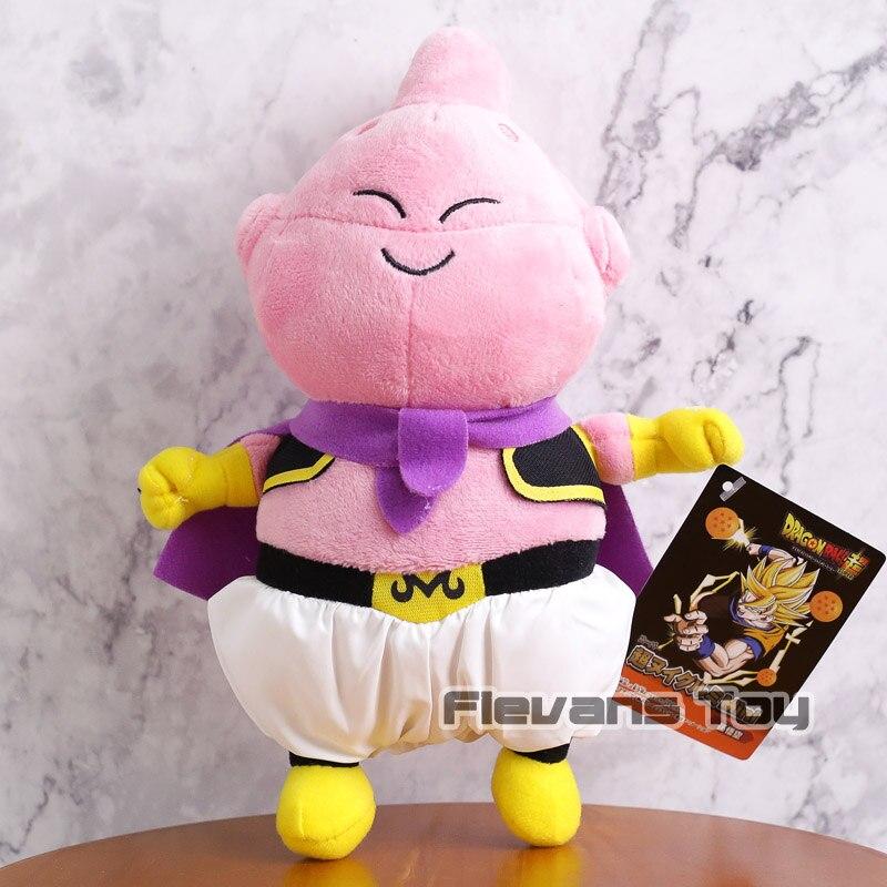 Dragon Ball Z Super Saiyan God Blue Son Goku Vegeta Piccolo Majin Buu Anime Cartoon Plush
