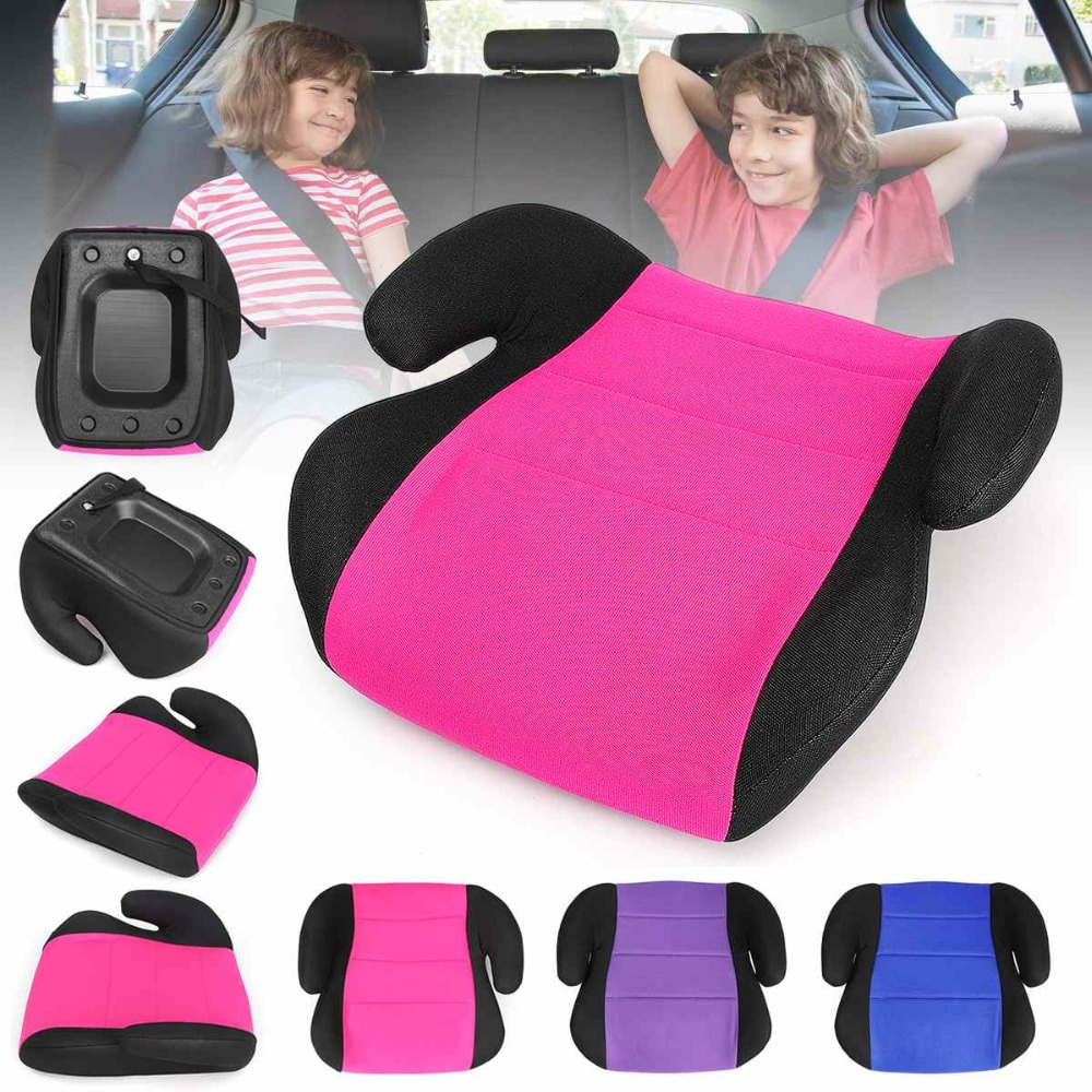 3-12 Jahr Baby Sicher Auto Booster Sitz Tragbare Reise Baby Auto Sitz Kind Verdicken Baby Stühle Kissen Kinder Esszimmer Erhöhen Sitz