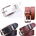 Venta caliente Marcas Cintos Cinturón de Vaquero de Los Hombres paquete de La Cintura Masculina Famosa Marca de Lujo Correa de Cuero Hebilla de la Aleación Correa Larga