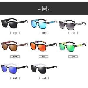 DUBERY العلامة التجارية تصميم الاستقطاب النظارات الشمسية الرجال سائق ظلال الذكور خمر نظارات شمسية للرجال Spuare مرآة الصيف UV400 Oculos