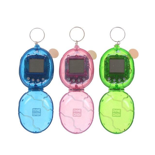 Funny Electric Toys Virtual Cyber Pet Toy Virtual Pet Electronic Pets Toys  Tamagot Elektronic Toys Keychain b0663b957