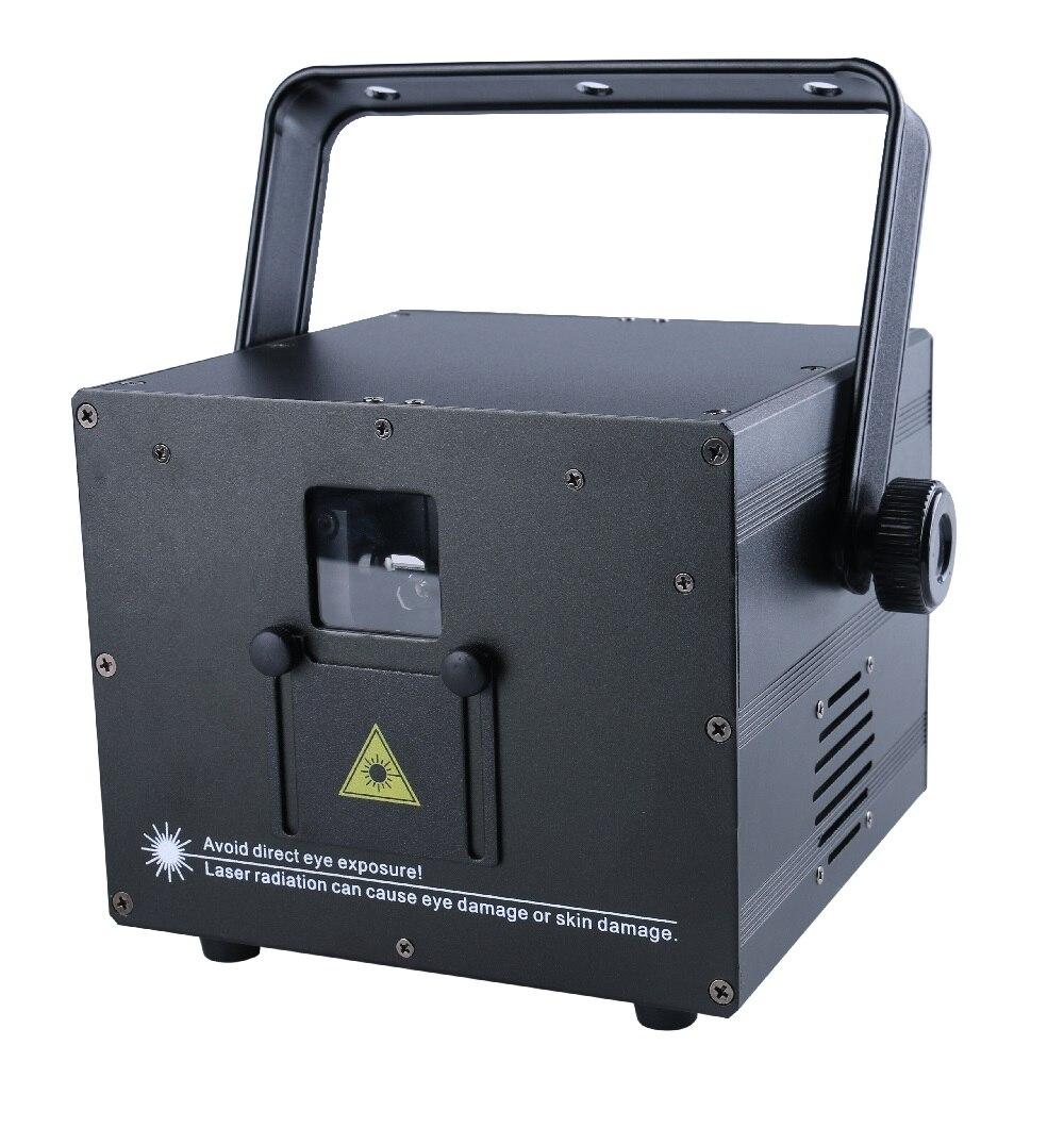 3 W Mini RGB luz láser a todo color Auto sonido DMX ILDA 256 patrones tarjeta SD
