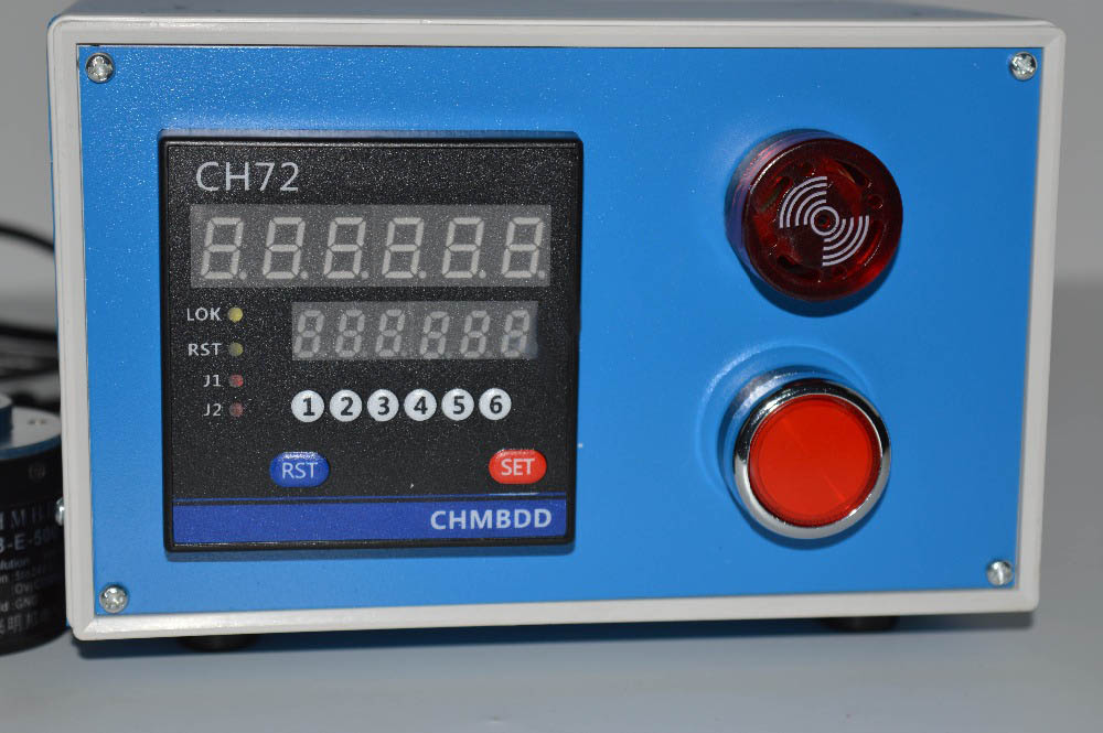 Electronic Digital Meter Counter Intelligent Length Measuring Instrument Roller Type Encoder With Alarm CH72 цена