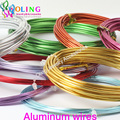 2016 5M Roll of 1.5mm Anadized Aluminum Wire soft DIY craft versatile painted aluminium metal necklace Bracelet  jewelry making