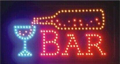 Signe ouvert de barre de LED/club de barre, club de boisson, signe de LED de magasin