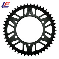 LOPOR Chain 520 48T Motorcycle Rear Sprocket For Yamaha XJ600 S/SC D,E,F,G,H,J,K Seca 92 98 N 4KE,4MB 95 03 XJ 600