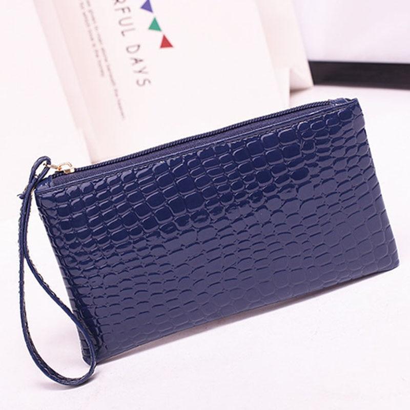 New Mini Day Clutches Women's Bag Korean Version Crocodile Pattern Clutch Bag Ladies Mobile Phone Bags Wallet PU Leather Handbag (1)