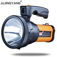 Highlights flashlight for mobile phone charging Super bright homehold led portable fishing light 10W flashlight searchlight