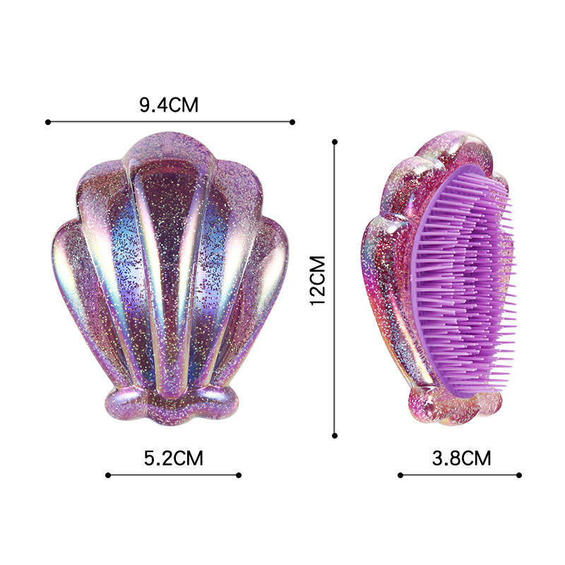 1pcs Portable Mini Folding Comb Girls Airbag Folding Comb Travel Hair brush With Mirror High Quality
