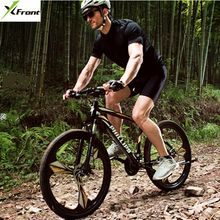 New Brand 26 inch carbon steel 21/27/30 speed dual disc brake mountain bike outdoor downhill MTB bicicleta bicycle