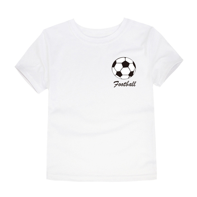 2019 Summer Boys Team Clothing Children Football Team T Shirts Boys Tees Kids Clothes Girls T Shirts for 1-14 Years