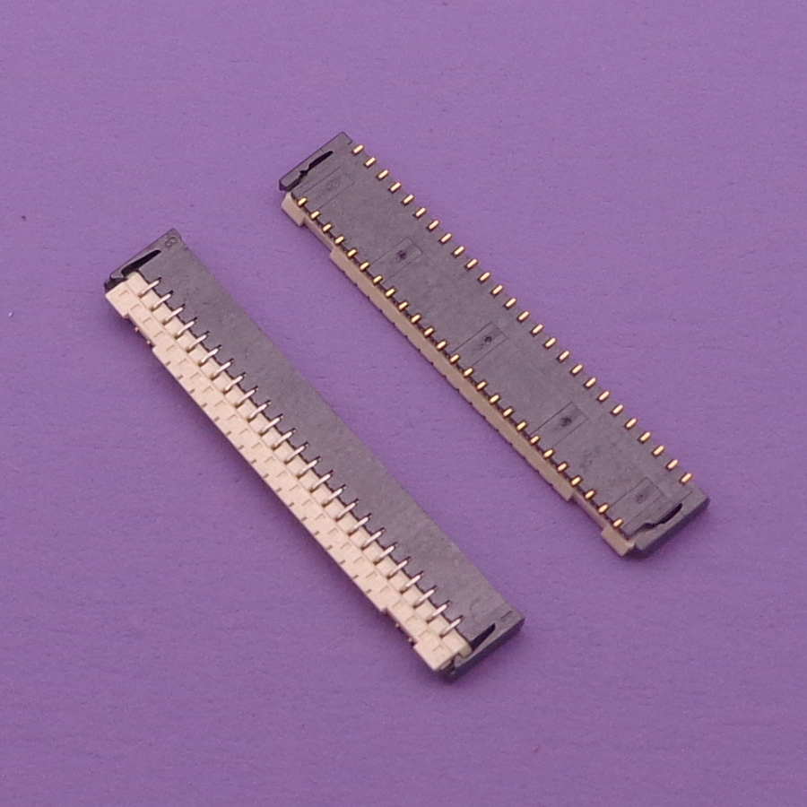 10pcs  Lot Touch Screen 51 Pin Fpc Connector For Htc One M8 M8t M8d M8w E8 Logic On The Board