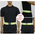 Reflective Strap, Riding Vest Belt, Reflective Vest Elastic Band Waistband for Night Outdoor Running Cycling Working