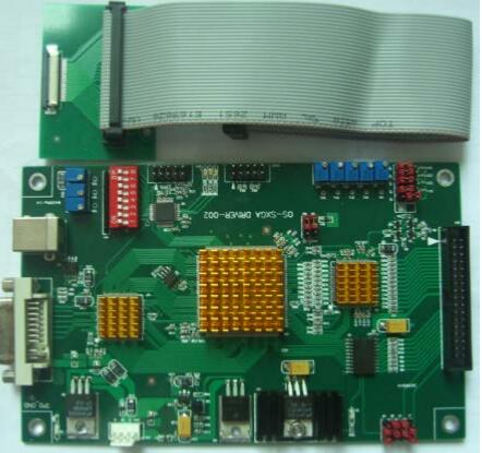 Brand new DVI LCD driver pcb OS SXGA DRIVER 002 for spatial light ...
