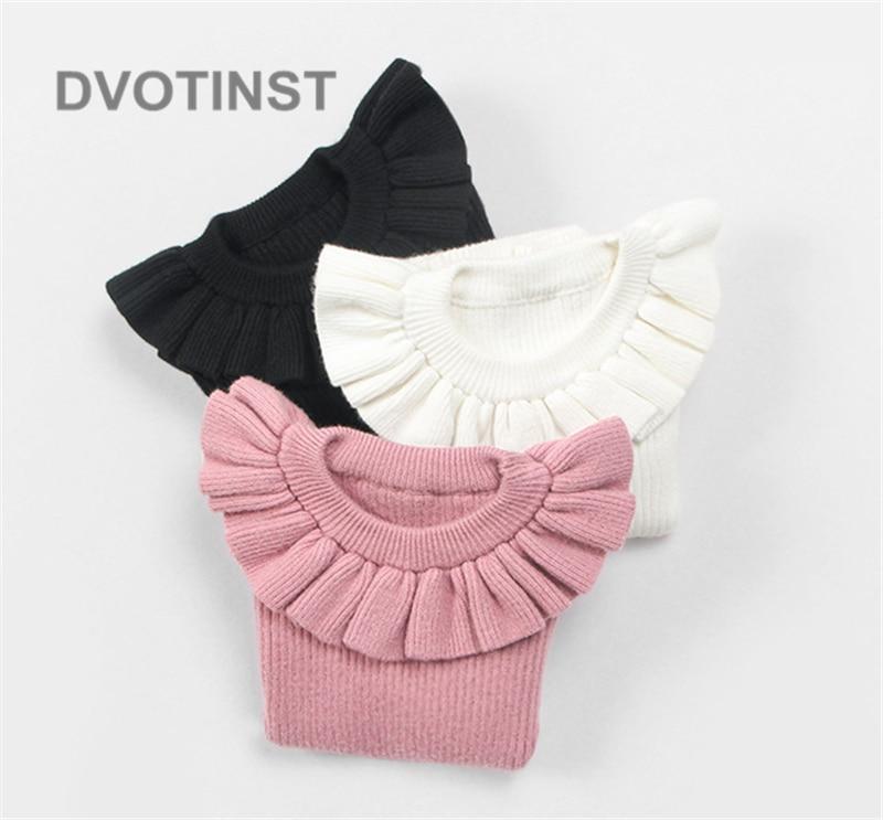 Girls Clothing Shirt Toddler Newborn-Baby Full-Sleeve Winter Cotton Knit Boy Crochet