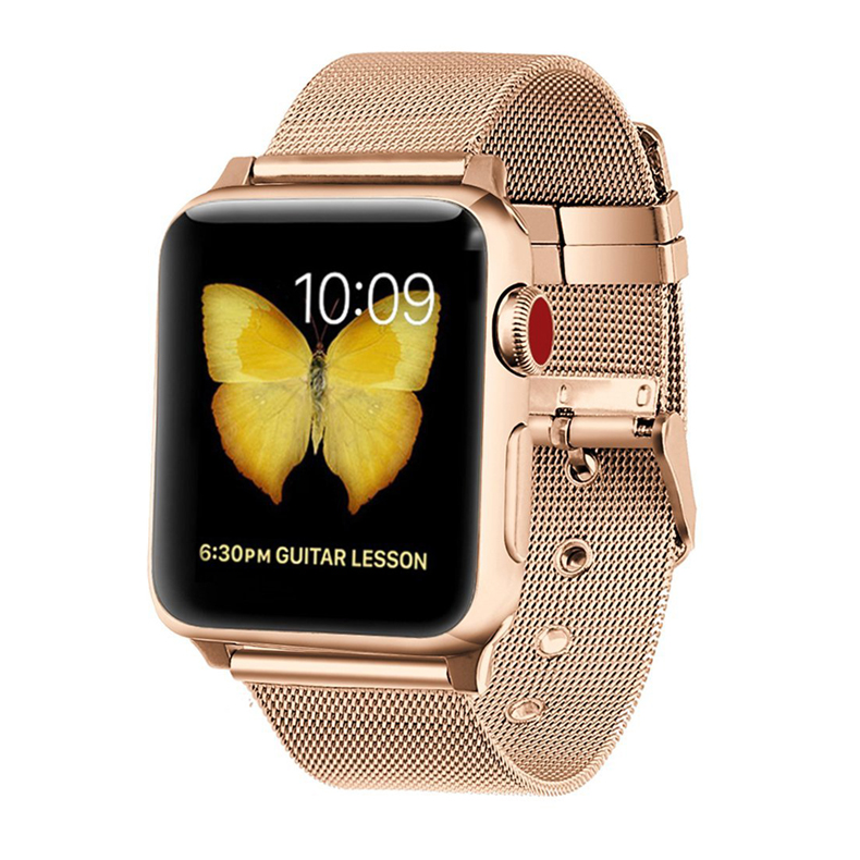 Milanese strap for Apple watch band 4 44mm 40mm iwatch band 38mm 42mm stainless steel mesh bracelet watchband Apple watch 4 3 21Milanese strap for Apple watch band 4 44mm 40mm iwatch band 38mm 42mm stainless steel mesh bracelet watchband Apple watch 4 3 21