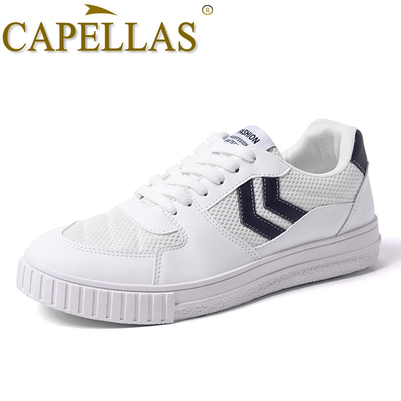 CAPELLAS New Fashion Men Canvas Shoes Herrskor Casual Brand Andas - Herrskor - Foto 3