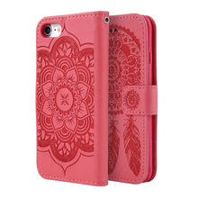 Mandala PU Leather IPhone Case