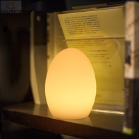 Remote control colour eggs Table lamp for the bedroom deco Table Luminaire luminaire bar cafe Industrial Decor Lighting fixtures