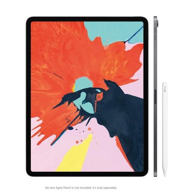"""New! mới nhất Của Apple iPad Pro 11 """"64G WiFi với A12X Lỏng Retina Hiển Thị 12MP Máy Ảnh FaceID Tất Cả Các-Màn Hình thiết kế IOS 12 Máy Tính Bảng"""