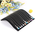Free Shipping Black Bridge-shaped Necklace Stand Pendants Holder Jewelry Pendant Stand Display Bracelet Organizer Showcase
