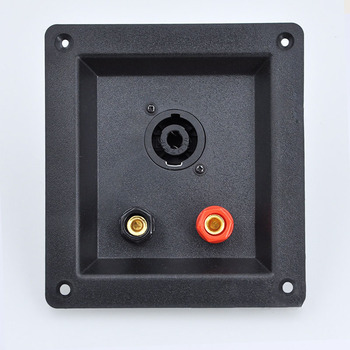 10pcs/lot Professional stage  speaker with cassette connection backplane Junction box connector 100*109mm new ABS material