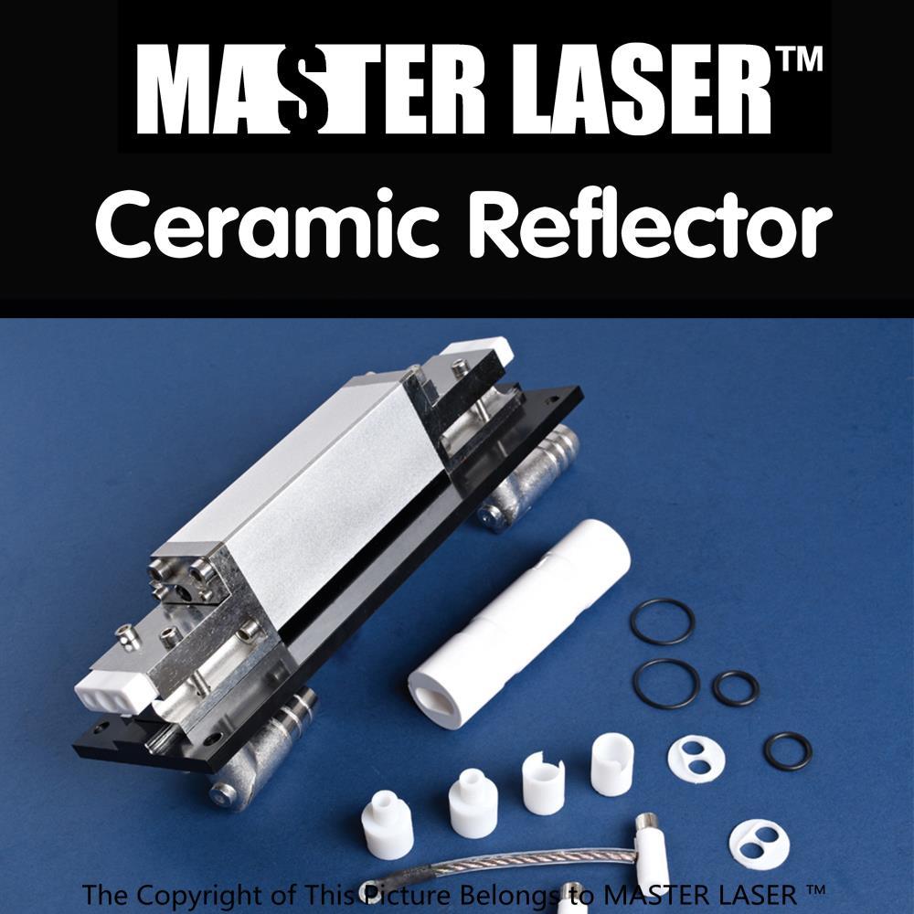 97mm BAB192 (TCT97... BAB349) lámpara única y sola barra de alta potencia de alta reflectividad de Al2O3 cavidad láser Reflector - 2