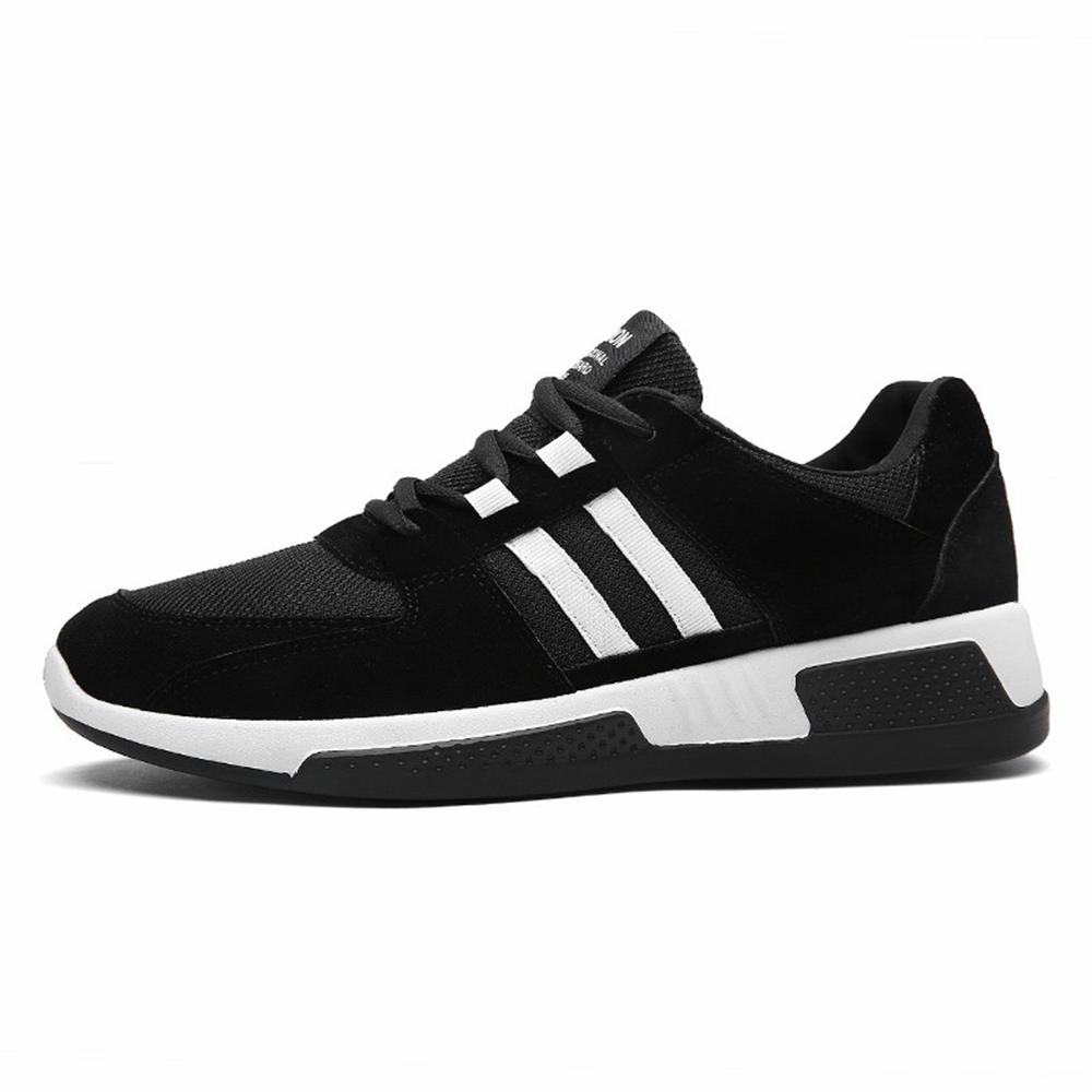 2018 New Height Increasing Breathable Men Lace-Up Sneakers Hard-Wearing Fashion Man's Casual Shoes Chaussure Homme Male Footwear mycolen 2018 new summer breathable men casual shoes slip on male fashion footwear height increasing sneakers sepatu casual pria