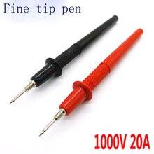 Multimètre à pointe Fine | Stylo, pointe Fine, sonde à main, stylo de test de Contact 1000V20A
