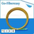 1 peça De Fibra Óptica Patch Cable Jumper SC/APC-SC/APC SM 9/125 PVC 3.0mm 4 m Único cabo de modo Único