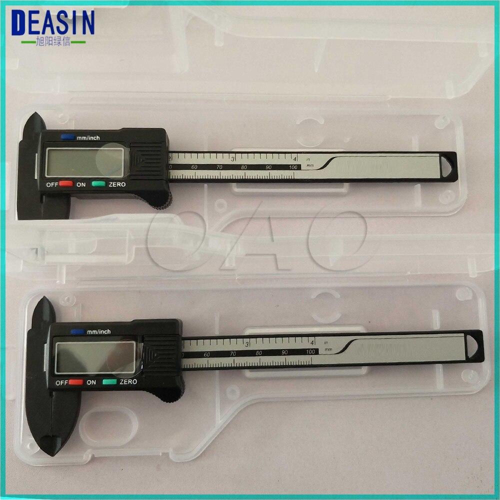 1 pcs 100 milimetros escala de medicao paquimetro vernier caliper dental dentista paquimetro eletronico com display