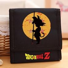 New Arrival Dragon Ball Z Canvas Wallet