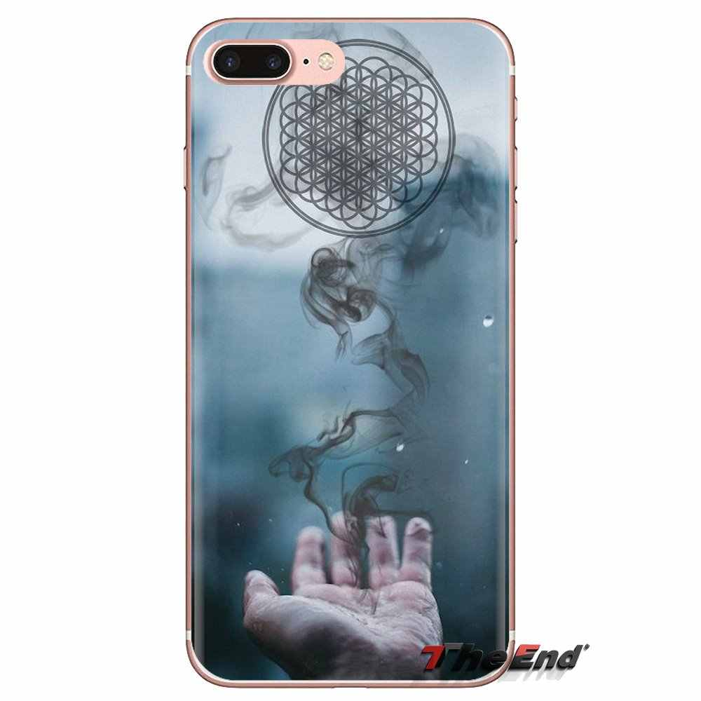Fundas suaves transparentes para iPod Touch Apple iPhone 4 4S 5 5S SE 5C 6 6S 7 8 X XR XS Plus MAX Me trae el horizonte BMTH