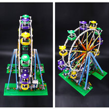 2518pcs Leping The Creator Expert Ferris Wheel Building Brick Education Toys Girls Gift Compatible Toys Gift