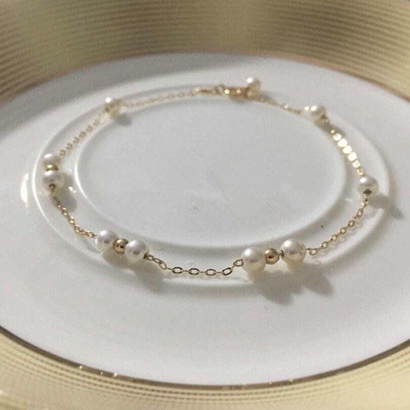 Bracelets et Bracelets de perles d'eau douce pour femmes accessoires de bijoux de mode de haute qualité Bracelet de perles de charme féminin élégant