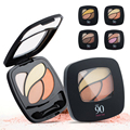 1 pc mixed color eye shadow eyes make up Brighten colorful eyeshadow Easy to Wear beauty make up A2