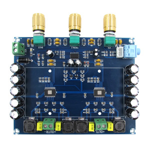 Image 5 - TPA3116 150W X2 2.0 Dual Channel Stereo Hifi Digitale Audio Versterker Board TPA3116D2 Dc 12V 24V auto