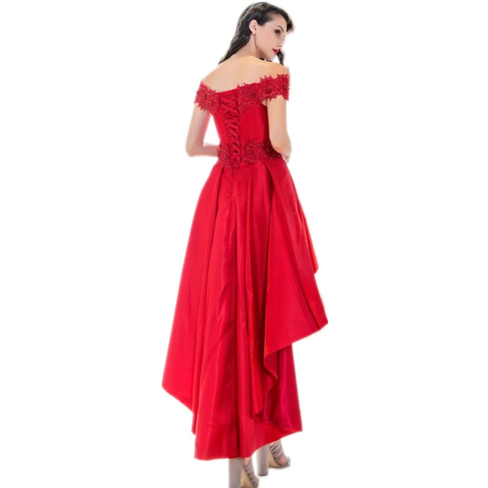 Schön Rote Kurze Prom Kleider Ideen - Hochzeit Kleid Stile Ideen ...