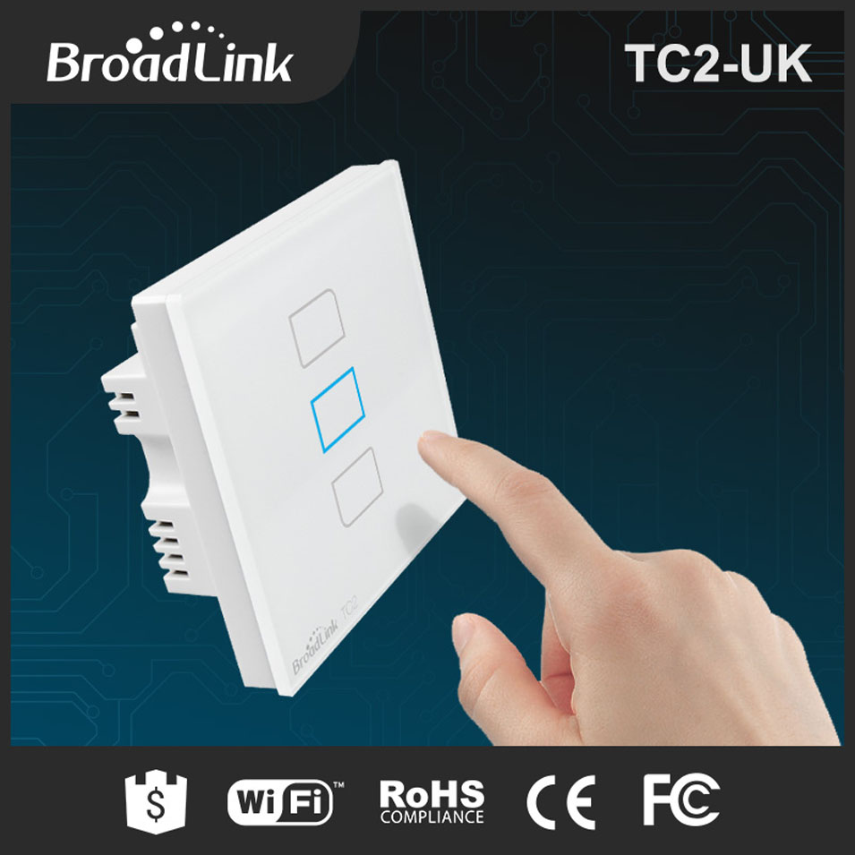 3 Gang Light Switch Uk Switches Doityourselfhelpcom Dimmer Diagram Wiring Standard Broadlink Tc2 1 Way Wireless Smart Home