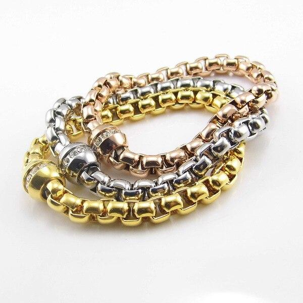 Tyme Charm Bracelets Carter love bracelets & bangles Rose Gold Bracelet H Bangle for Women men Jewelry birthday Christmas Gift